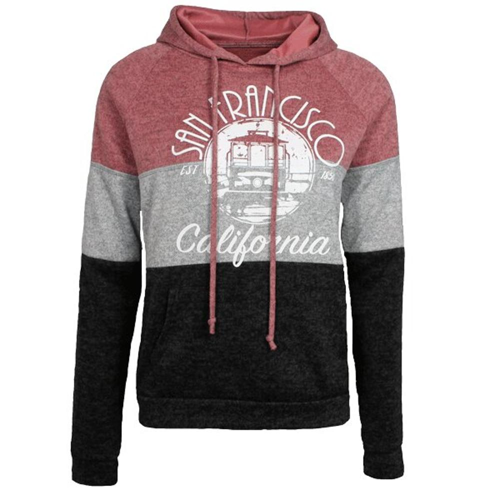Ladies 3 Tiered Cake, Layered with Goodness, San Francisco Hoodie