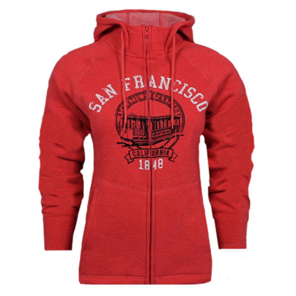 Ladies Athletic Fit San Francisco Sweatshirt